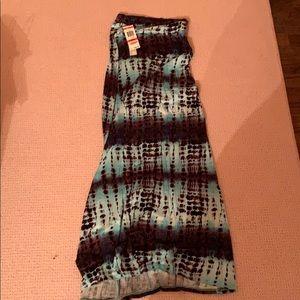 NEGOTIABLE Tie Dye Blue Skirt